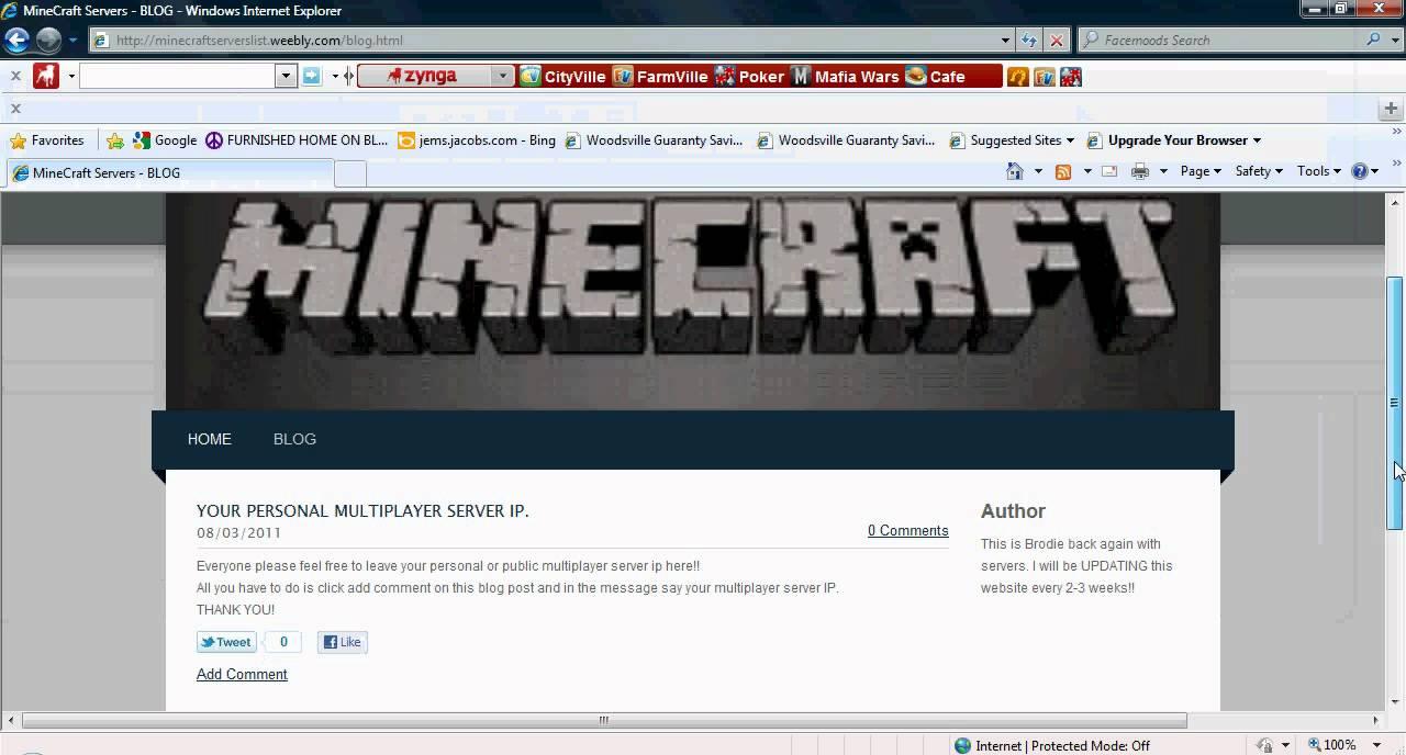 Minecraft Servers List {FREE}