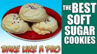 The Best Easy Soft Sugar Cookies Recipe