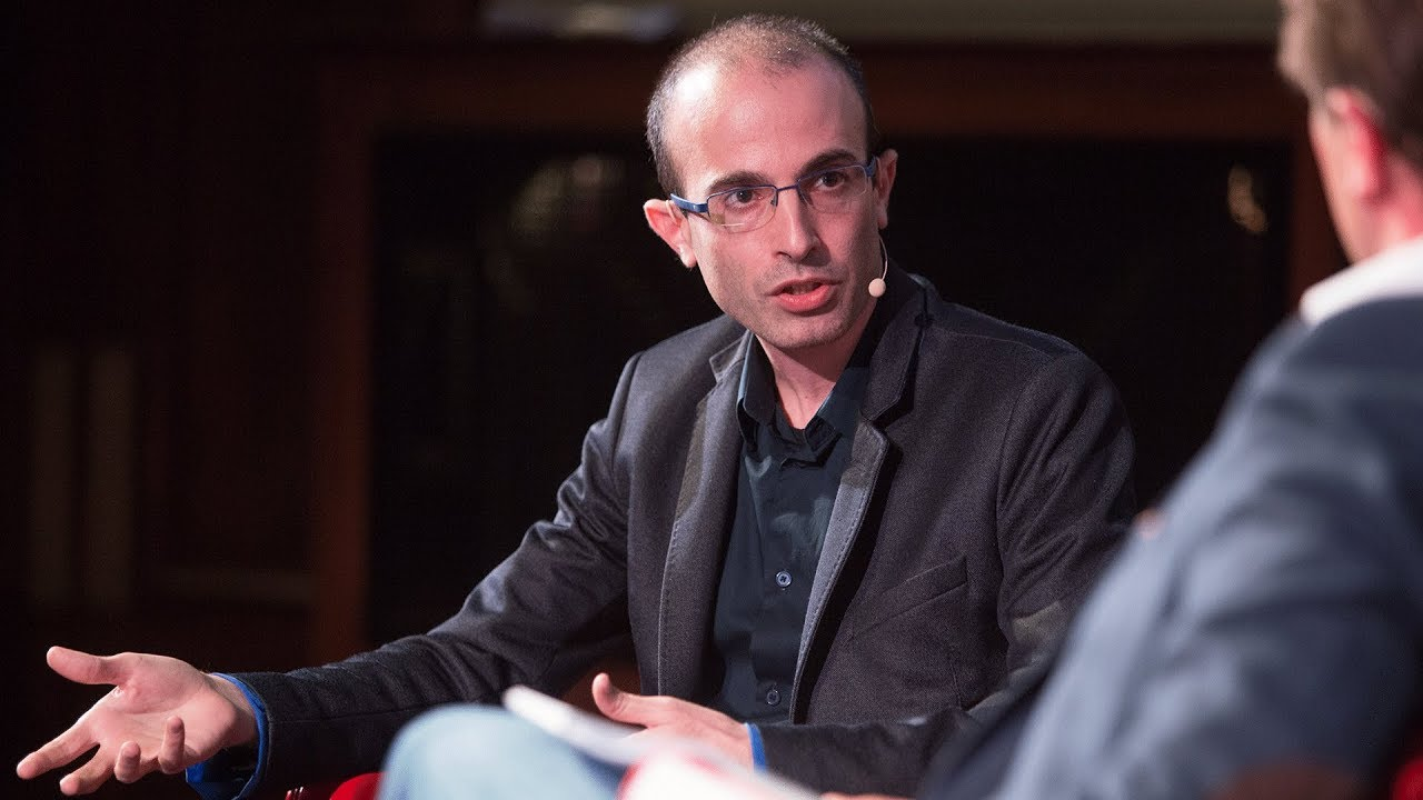 Yuval Noah Harari on the myths we need to survive - YouTube
