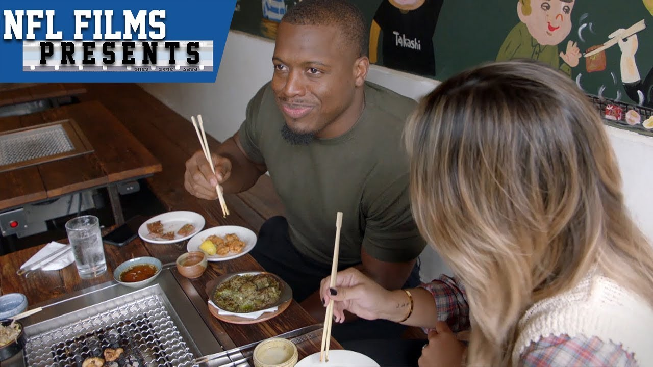 Jonathan Stewart's Love for New York Food | NFL Films Presents