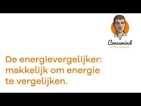 de energievergelijker makkelijk om energie te vergelijken