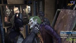 Batman: Arkham Asylum easy any% speedrun in 1:25:59 (PB)