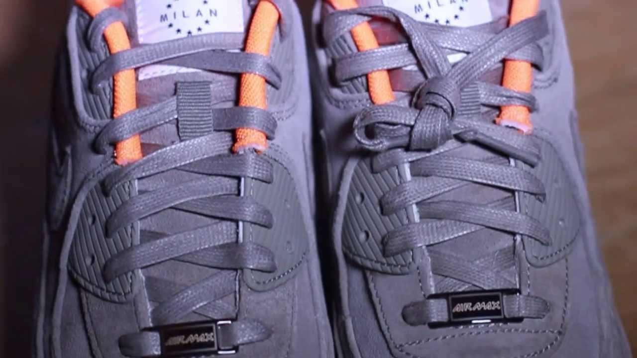 Nike Air Max 90 Suede Hyper BlueSail (On Feet) Mini Review