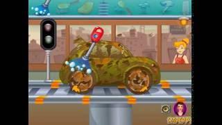 Мультик игра Автомойка: Мыть машину Динь-Динь (Tinkerbell Car Wash)