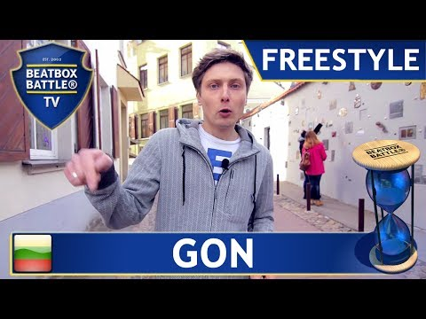 Gon from Lithuania - Freestyle - Beatbox Battle TV