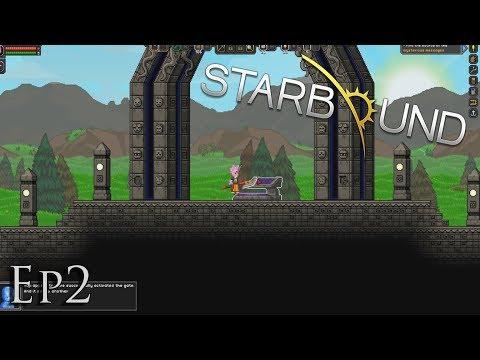 Starbound Tutorial - Ep2 - Naar De Outpost! (NL)