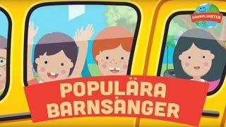 Populara barnsanger Vipp-pa-rumpan-affarn, Krokodilen i bilen, Klappa handerna m.fl.