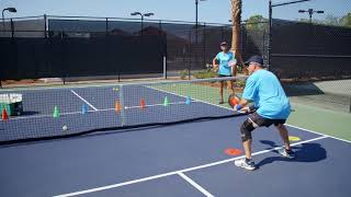 Pickleball Tutor Tips: The Importance of Practicing Dinking with Recovery