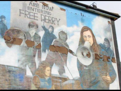 Republican Murals in Derry