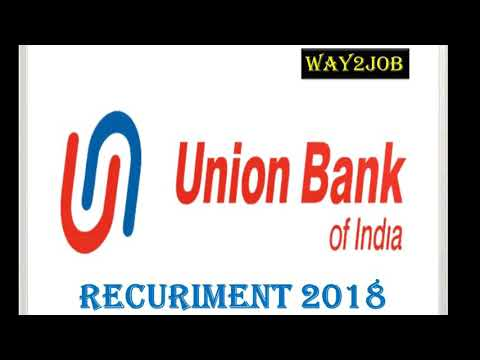 union bank of india recruitment 2018 in hindi