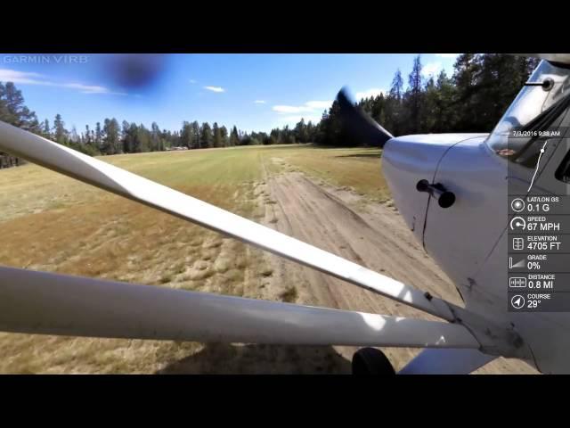 Landing at Donnelly U84