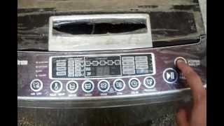 lg t722pffc problem in washing machine