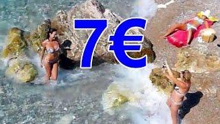 #Черногория Рыбный обед 2016 Цена (Montenegro fish lunch price)(Рыбный обед в Черногории на двоих, цена 7 евро. Рыбка жареная очень вкусная. Мы обедали в Бечичи в кафе Галия..., 2016-07-18T20:48:18.000Z)