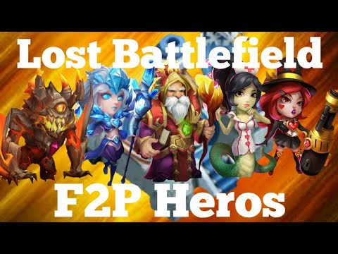 Free To Play Heros In Lost Battlefield Castle Clash
