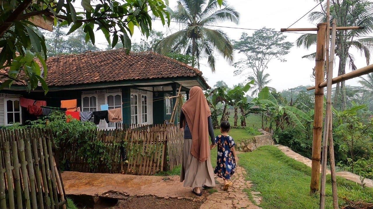 Download Suasana Pagi di Pedesaan Jawa Barat Setelah Hujan, Suasananya Sejuk Bikin Tenang dan Tentram