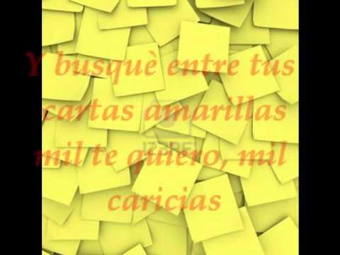 Nino Bravo ( Cartas amarillas ) subtitulada