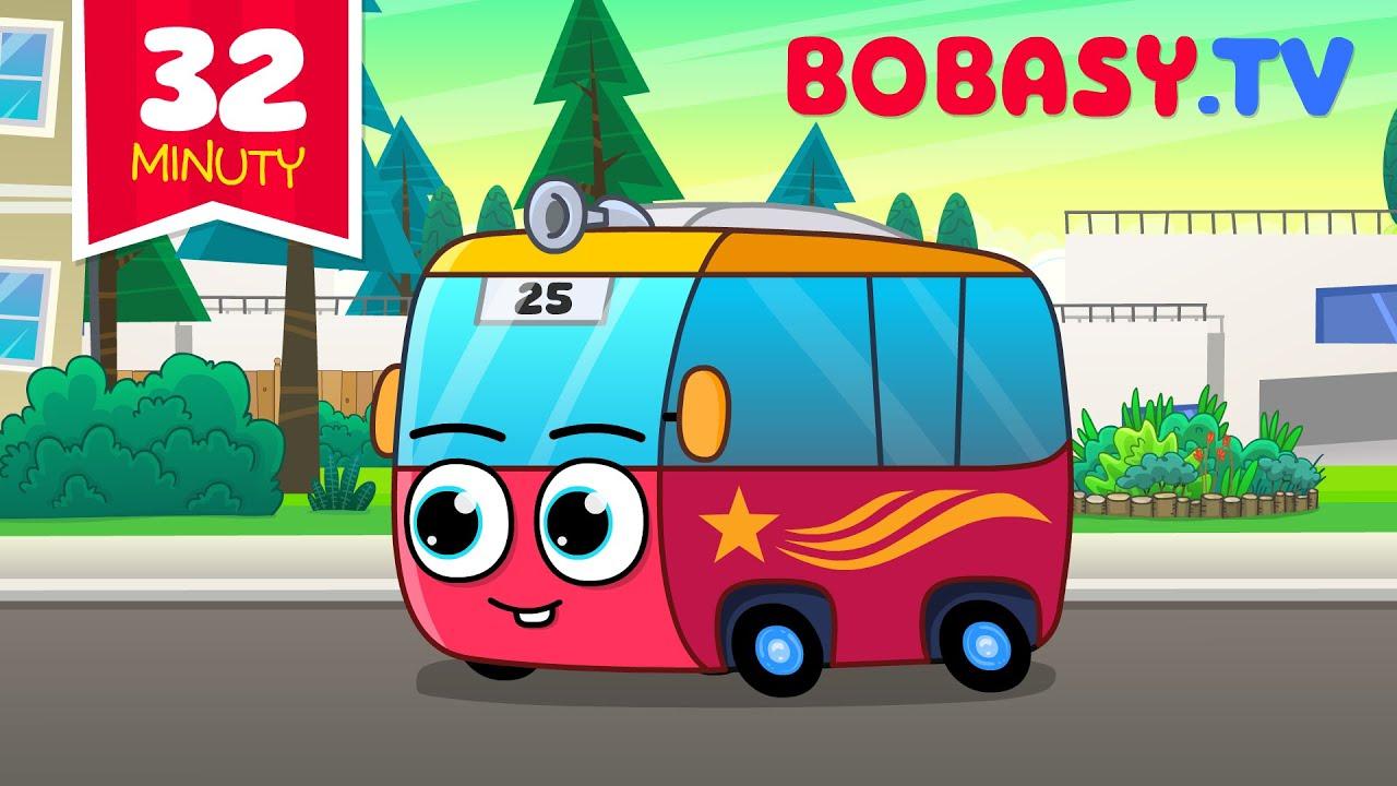 Download Koła Autobusu Kręcą Się - Zestaw Piosenek Dla Dzieci - Bobasy TV