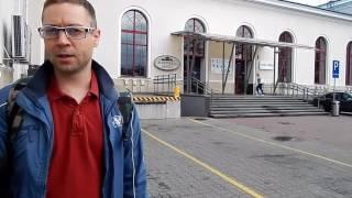 Как добраться из Вильнюса в Каунас. Дешёвый хостел. Бесплатный автобус до рынка Гарюнай