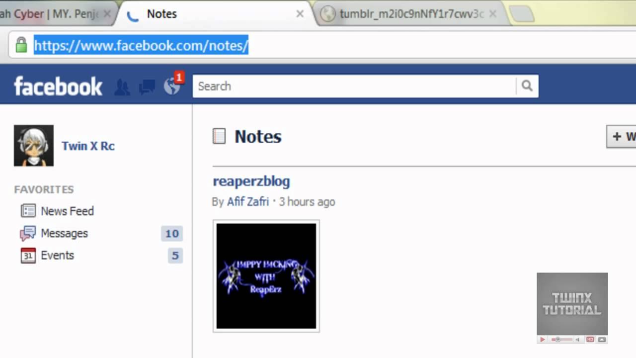 Twinx Tutorial Gambar Bergerak Di Facebook Chat Youtube