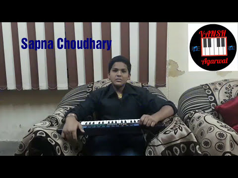 Teri aankhyon ka yo kajal || Sapna Chaudhary || Piano Cover