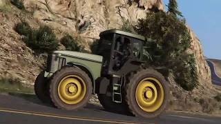 Big green tractor parody music video(GTA5)
