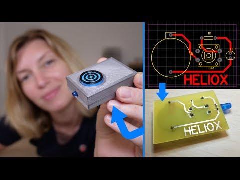 Fabriquer un circuit imprimé de A à Z à la maison