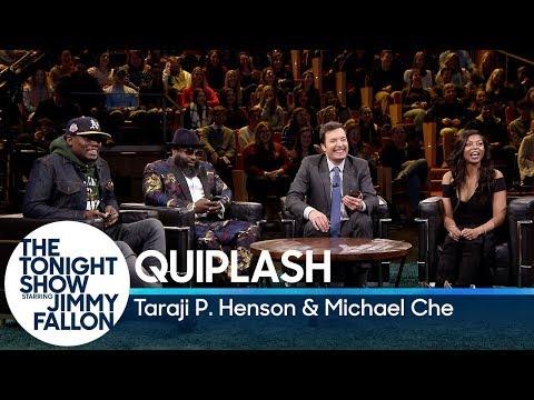 Quiplash with Taraji P. Henson and Michael Che