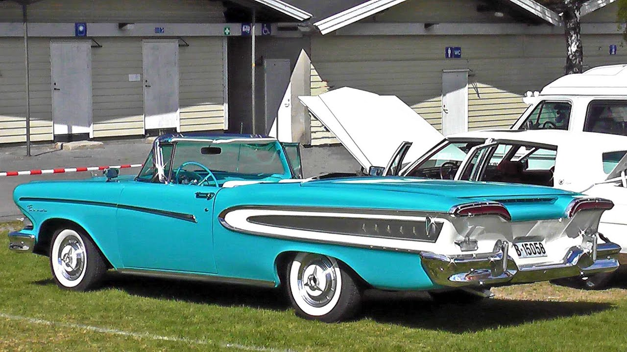 1000  images about Edsel on Pinterest   Cars for sale, Vehicles ...