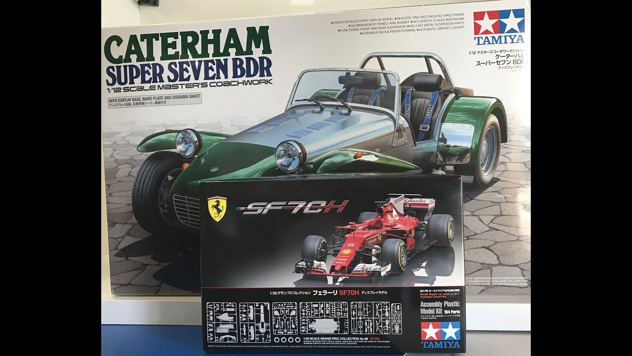 New Tamiya Releases from Nuremberg Toy show complete reviews Ferrari F1