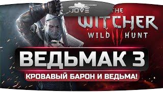 Прохождение Ведьмак 3: Дикая Охота #3. Кровавый Барон и Кейра Мец.