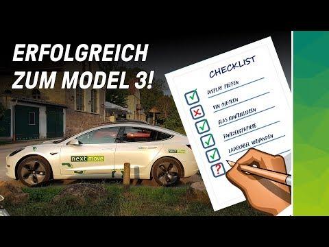 Tesla Model 3 Auslieferungsangst mit Checkliste besiegen - Ready for #ServiceHell