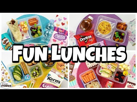MORE NEW Lunch Ideas! 🍎 Fixing YOUR Lunches