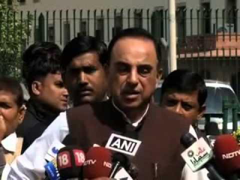 Dr. Subramanian Swamy opposes cutting through