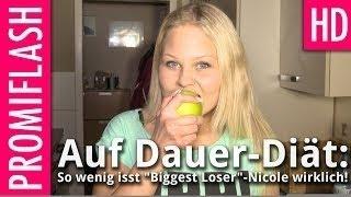 Auf Dauer-Diät: So wenig isst Biggest Loser-Nicole wirklich!