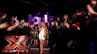 Welcome your X Factor 2015 Finalists! | The Final | The X Factor 2015(Visit the official site: http://itv.com/xfactor What a way to make an entrance at The Final! Watch as Ché, Reggie 'N' Bollie and Louisa enter the arena, ready for ..., 2015-12-12T20:56:54.000Z)