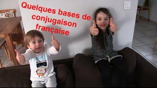Quelques bases de conjugaison française