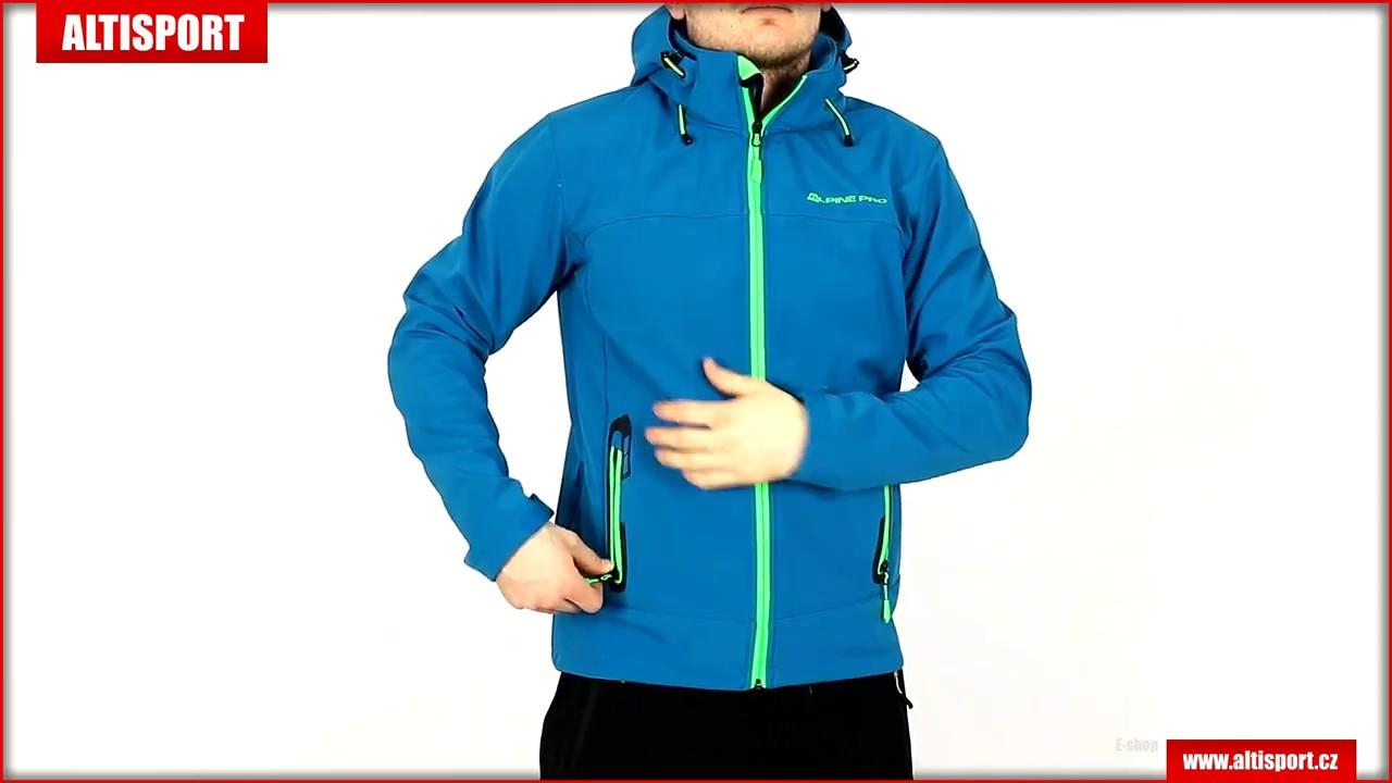 pánská softshellová bunda alpine pro nootk 3 mjcl242 tmavě modrá ... e186ece350d