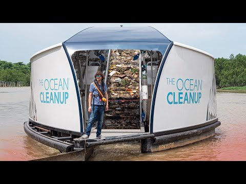 New river trash Interceptors are stopping plastic from reaching the ocean