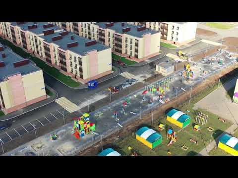 Динамика строительства ЖК «Царево Village» (октябрь, 2018)
