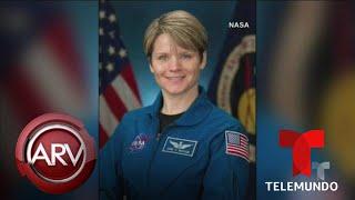 Acusan a una astronauta de cometer un delito desde el espacio | Al Rojo Vivo | Telemundo