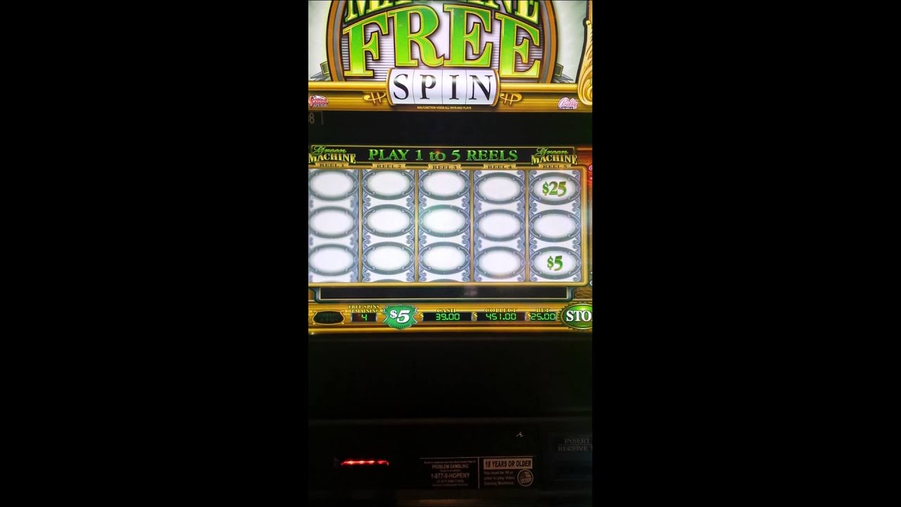 green machine slot machine