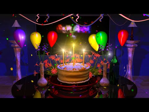 Magical Cake Animated Happy Free Birthday Wishes Ecards
