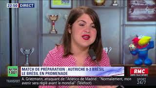 After Foot du dimanche 10/06 – Partie 3/6 - L'avis tranché de Daniel Riolo sur le Brésil