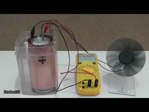 Energy saltwater Physics Model