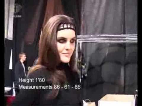 fashiontv | FTV.com - FIRST FACE TALKS F/W 06-07 HILARY RHODA