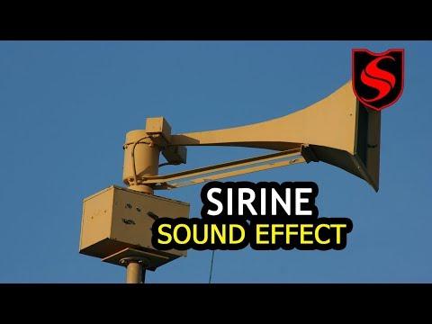 Siren (sirine) Sound Effect  !! Polisi, Ambulance, Kapal, Militer, Dll