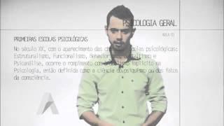 AULA 01   INTRODUÇÃO AO CONCEITO DE PSICOLOGIA COMO CIÊNCIA