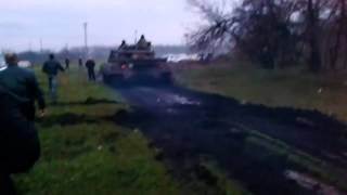 Донецк Как начиналась война в Донбассе укр армия получила приказ войти но еще ни в кого не стреляла