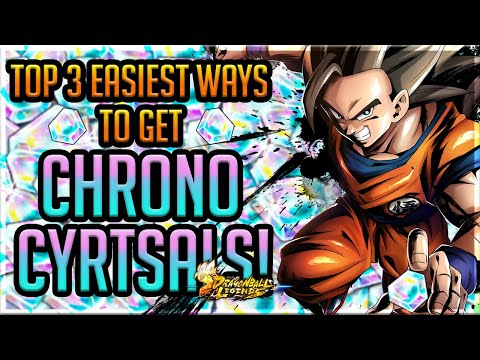 TOP 3 EASIEST WAYS TO GET CHRONO CRYSTALS! VIDEO REQUEST   Dragonball Legends   Tutorial