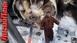 Заїзд в тайгу на снігоході